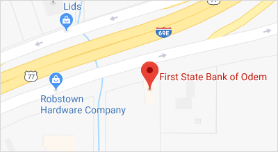 Map of Robstown Banking Center