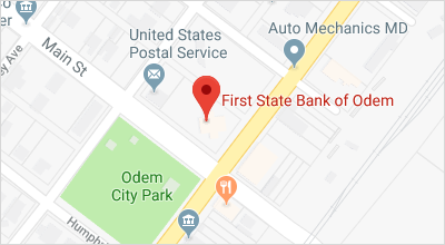 Map of Odem Banking Center
